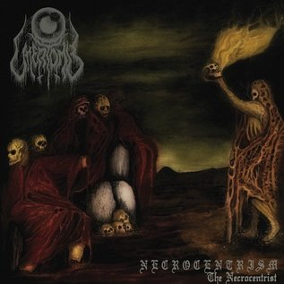 Iron Bonehead Productions Uttertomb ‎- Necrocentrism: The Necrocentrist LP