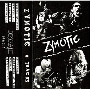 Desolate Records Zymotic - 8 Tracks CS