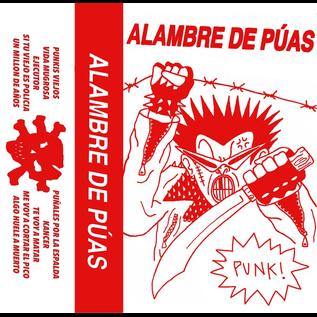 Rock SVB Discos Alambre de Puas - Punk! CS