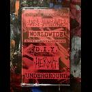 Hospital Productions Ames Sanglantes / Autoerotichrist / Hermit - Worldwide D.I.Y. Underground CS