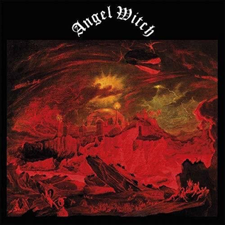 Back On Black Angel Witch - S/T LP