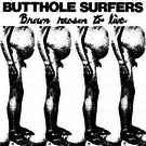 Alternative Tentacles Butthole Surfers - Brown Reason To Live LP