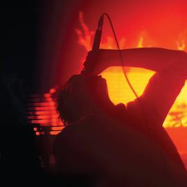 Hospital Productions JK Flesh/Orphyx - Light Bringer LP (Orange Vinyl)