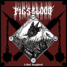 Stygian Black Hand Pig's Blood - A Flock Slaughtered LP
