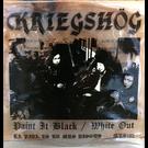"""La Vida Es Un Mus Kriegshog - Paint It Black/White Out 7"""""""