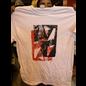 Katorga Works Nadine Rosario - T Shirt Red & White Large