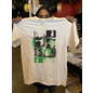 Katorga Works Nadine Rosario - T Shirt Green & Off White Small