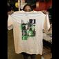 Katorga Works Nadine Rosario - T Shirt Green & Off White Medium