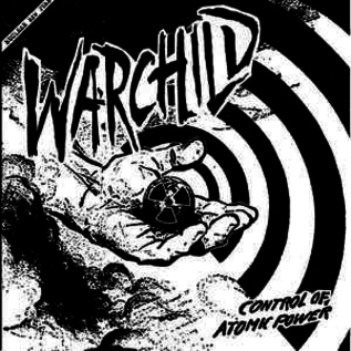 Black Water Warchild - Control of Atomic Power 7""