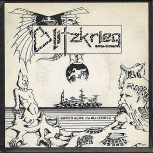 "Blitzkrieg - Buried Alive / Blitzkrieg 7"""