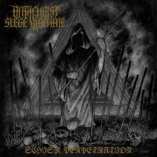 Stygian Black Hand Antichrist Siege Machine - Schism Perpetration LP