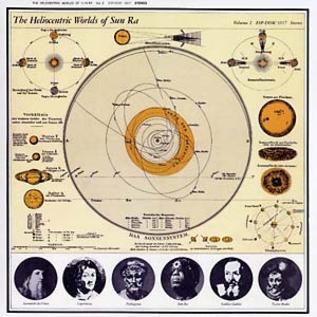 ESP Disk Sun Ra - The Heliocentric Worlds Of Sun Ra Vol. 2 LP
