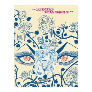 Sacred Bones Benjamin, Heather - Cavegirl Monologue Book (Hardcover)