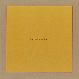 Young God Swans - Leaving Meaning. 2xLP