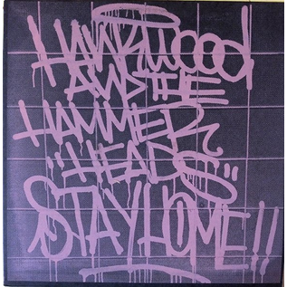 Toxic State Hank Wood & The Hammerheads - Stay Home LP