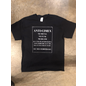 Keychains & Snowstorms T-Shirt Company Anti-Cimex Promo T-Shirt Extra Large