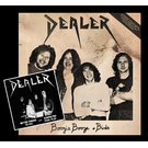 """Dealer - Boogie Booze and BIrds + Better Things To Do LP + 7"""""""