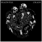 "Hardcore Victim Braincell/Zikade - Split 7"""