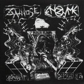 """Hardcore Victim Zyanose / Enzyme - Split 7"""""""