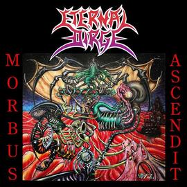 The Crypt Eternal Dirge - Morbus Ascendit LP (Clear Vinyl)