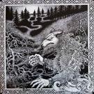 Werewolf Records Satanic Warmaster - Nachzehrer LP (Red Vinyl)