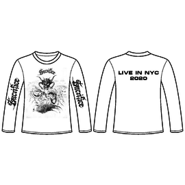 Bitter Lake Recordings Sacrifice - NYC Shows Longsleeve Official XL