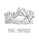 Vox Populi! - La Cathedrale Morte LP