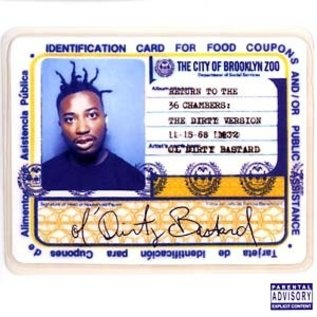 Get On Down Ol' Dirty Bastard - Return to 36 The Chambers 2xLP