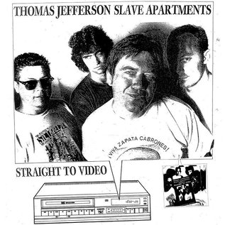 Straight to Video Records Thomas Jefferson Slave Apartments - Straight to Video LP