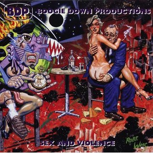Get On Down Boogie Down Productions - Sex and Violence 2xLP
