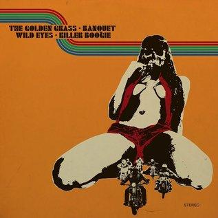 Heavy Psych Sounds V/A - The Golden Grass & Banquet & Wild Eyes & Killer Boogie 2LP