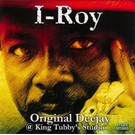 I Roy - Original Deejay LP