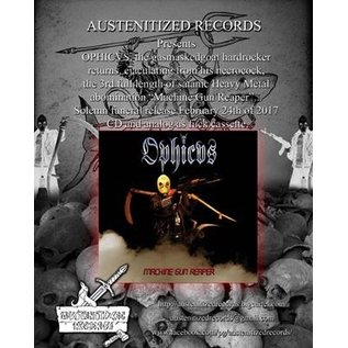 Austenitized Records OPHICVS - Machine Gun Reaper CS