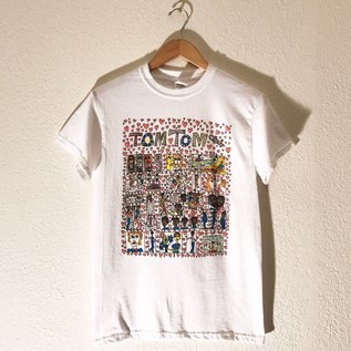 Bid Chaos Welcome The Tom Tom Club T Shirt Large