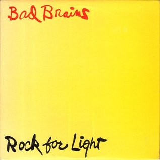 Fan Club Bad Brains - Rock For Light LP