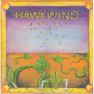 4 Men With Beards Hawkwind - Hawkwind LP