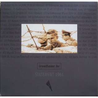 """Iron Flame V/A - Statement 1961 2xLP+7""""+CD"""