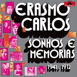 Light In The Attic Carlos, Erasmo - Sonhos E Memorias LP