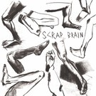 "Thrilling Living Records Scrap Brain - Unhappy Hardcore 7"""