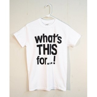 """Do The Nihil Killing Joke - """"What's This For?"""" T-Shirt Large"""