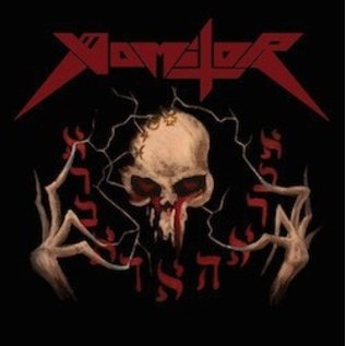 Hells Headbangers Vomitor - Pestilent Death LP (Oxblood Vinyl)