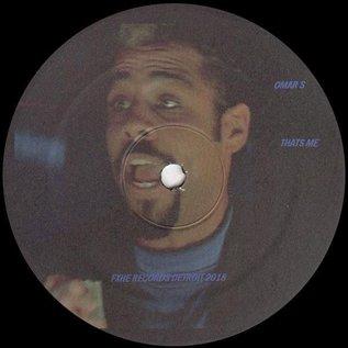 """FXHE Records Omar S - That's Me 12"""""""
