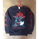 Forever Street Metal Bitch Kat - Crew Neck Large