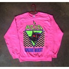 Forever Street Metal Bitch Acid - Crew Neck Pink Extra Large