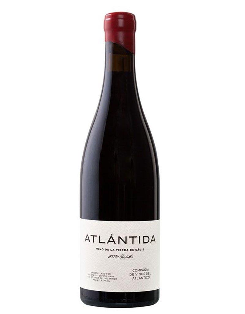 Spanish Wine Atlantida Vino de la Tierra de Cadiz 100% Tintilla 2014 750ml