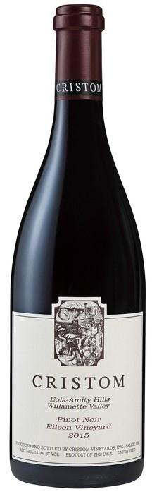 "American Wine Cristom ""Eileen Vineyard"" Pinot Noir 2015 750ml"