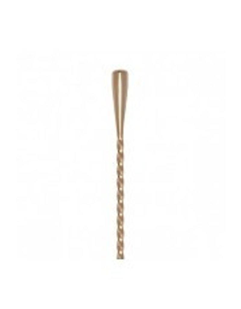 Miscellaneous Cocktail Kingdom Tear Drop Bar Spoon 50cm (Gold Plated)