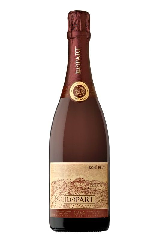 Sparkling Wine Llopart Brut Reserva Rosé Cava 750ml
