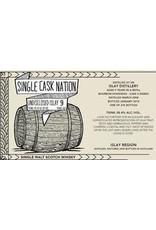 Scotch Single Cask Nation Undisclosed Distillery Islay 9 Year Single Malt Scotch 58.4% 276 bottles produced 750ml