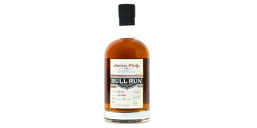 Whiskey Bull Run Pinot Noir Finish American Whiskey 750ml